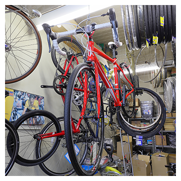 地元に密着した街の自転車屋さん