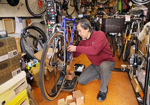 自転車点検・修理・販売について
